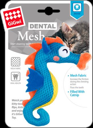 GiGwi Dental Mesh Sea horse blue