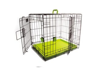 M- Pets VOYAGER Wire Crate - 2 doors