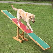 Dog Agility See-Saw, Wooden