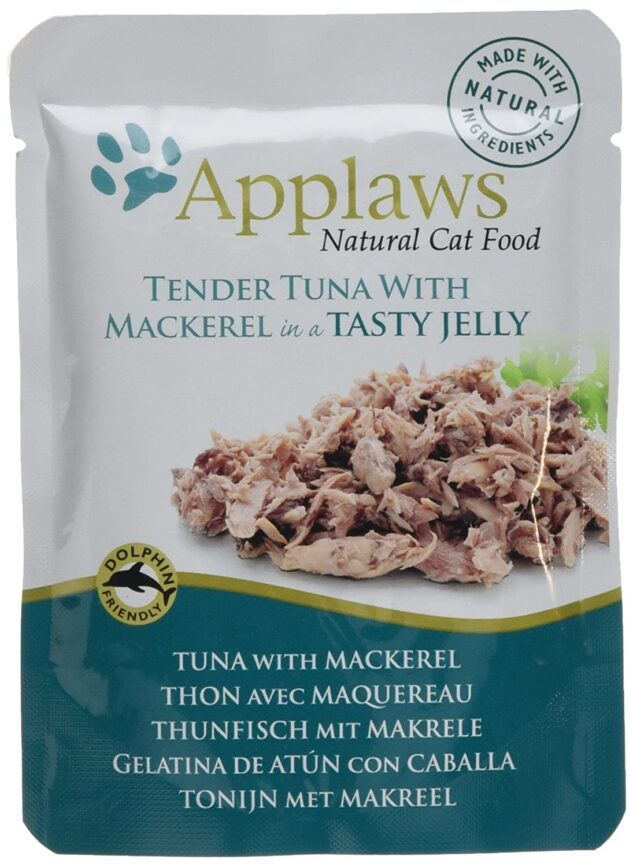 Applaws cat pouch - tender tuna with mackerel jelly 70 gm
