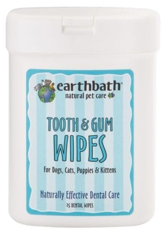 Earthbath-Tooth & Gum Wipes