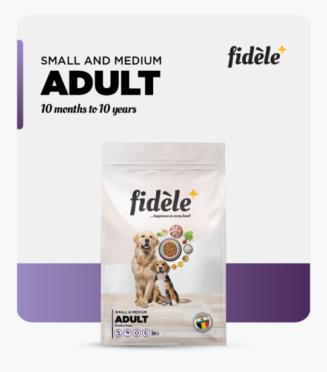 Fidele- Small and Medium Adult
